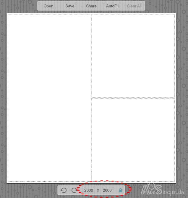 Ret dimensioner i picmonkey tutorial