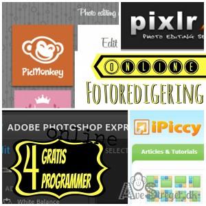 Gratis billedbehandling online foto redigering med ppicmonkey, pixlr, photoshop, ipiccy